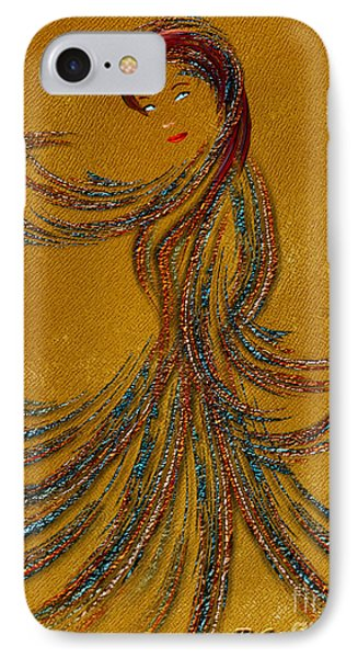 Dance Of The Seven Veils - Salome - Fantasy Art By Giada Rossi IPhone Case