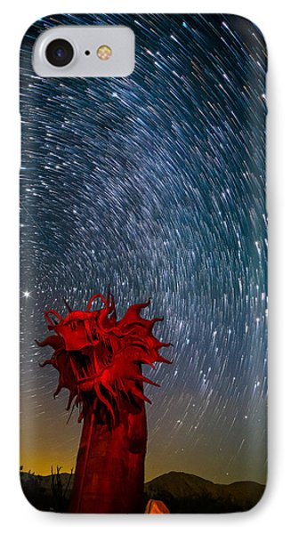 Dance Of The Star Serpent IPhone Case by Tassanee Angiolillo