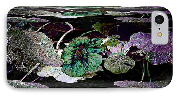 IPhone Case featuring the photograph Dance Of The Water Lilies by Irma BACKELANT GALLERIES
