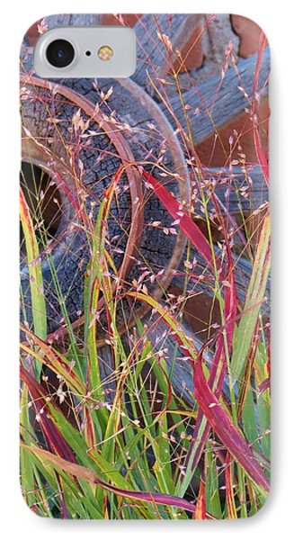 Dance Of The Wild Grass IPhone Case by Feva  Fotos