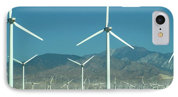 Dance Of The Wind Turbines IPhone Case