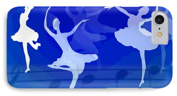 Dance The Blues Away IPhone Case by Joyce Dickens