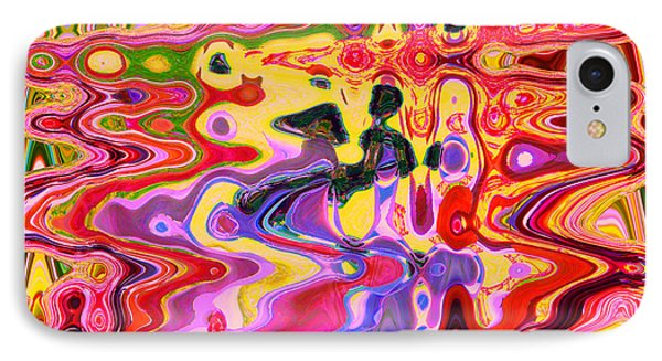 Dance With Me		 IPhone Case by Ann Johndro-Collins