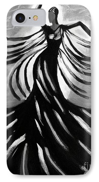 IPhone Case featuring the painting Dancer 2 by Anita Lewis