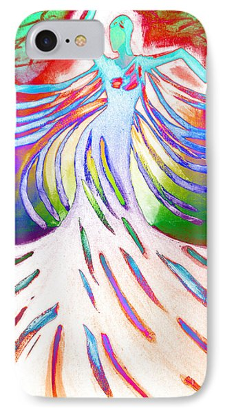 IPhone Case featuring the painting Dancer 4 by Anita Lewis