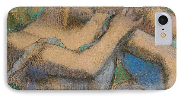 Dancer Adjusting Her Shoulder Phone Case by Edgar Degas
