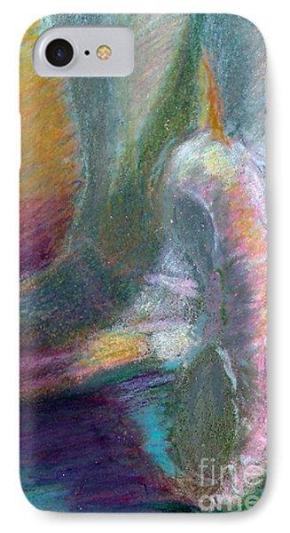 Dancer In The Doorway Phone Case by Ann Radley