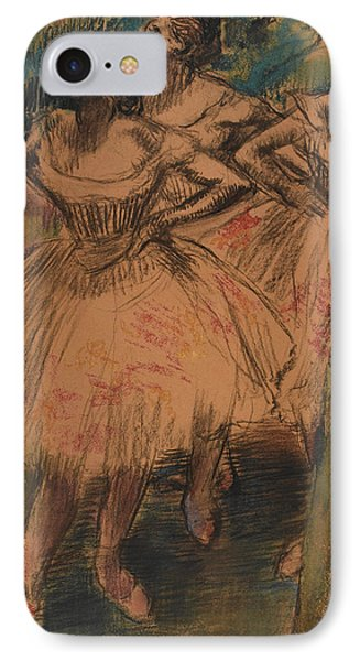 Dancer In The Wing IPhone Case by Edgar Degas