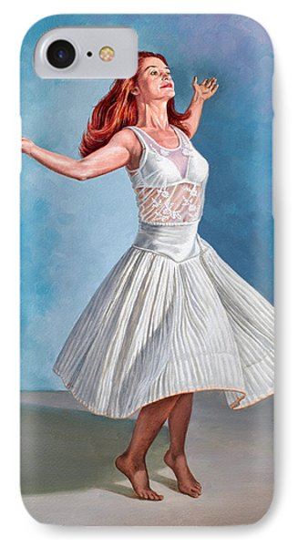 Dancer In White IPhone Case