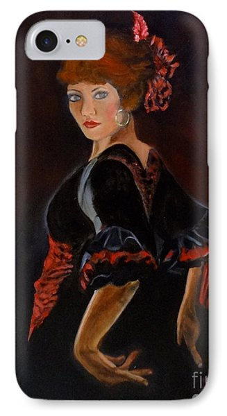 IPhone Case featuring the painting Dancer by Jenny Lee