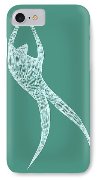 Dancer Phone Case by Michelle Calkins