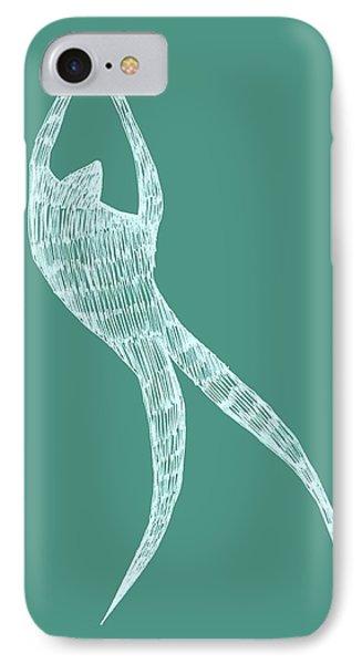 Dancer Phone Case by Michelle Calkins