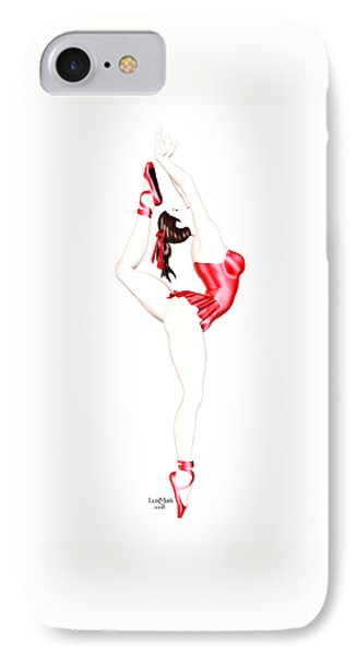 Dancer IPhone Case by Renate Janssen