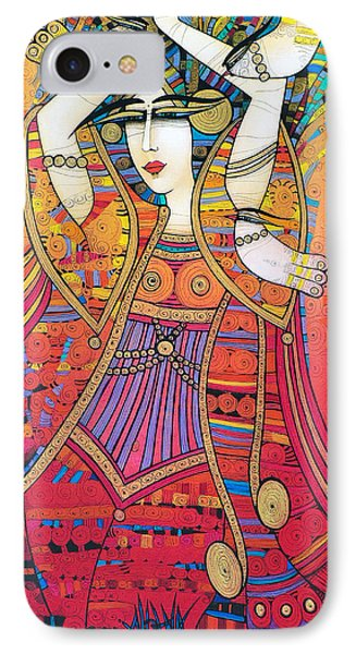 Dancer With Doves IPhone Case