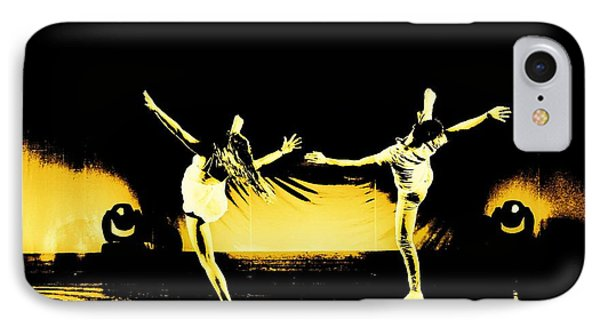 Dancers 4 IPhone Case by Carrie OBrien Sibley