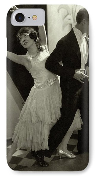 Dancers Fred And Adele Astaire IPhone Case by Edward Steichen