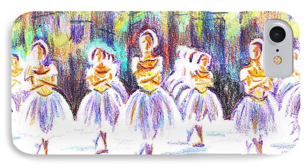 Dancers In The Forest II IPhone Case by Kip DeVore