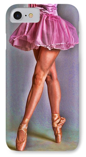 Dancer's Legs IPhone Case by Tyler Robbins