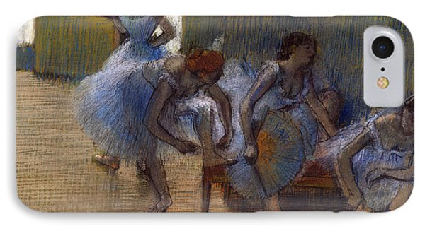 Dancers On A Bench, 1898 IPhone Case