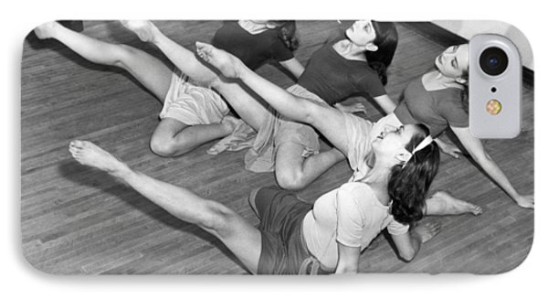 Dancers Warmup Exercises IPhone Case