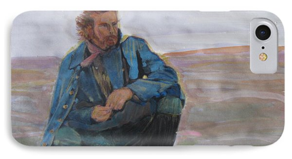 IPhone Case featuring the painting Dances With Wolves by Vikram Singh