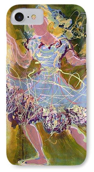 Dancing 1 Phone Case by Marilyn Jacobson