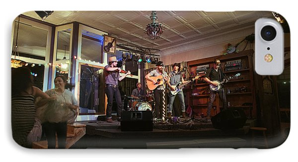 Dancing At The Purple Fiddle With Bryan Elijah Smith And The Wild Heart Band  Phone Case by Dan Friend