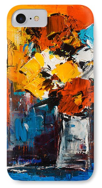 Dancing Colors Phone Case by Elise Palmigiani