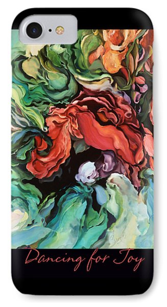 IPhone Case featuring the painting Dancing For Joy 2 by Brooks Garten Hauschild
