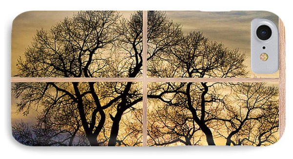 Dancing Forest Trees Picture Window Frame Photo Art View IPhone Case by James BO  Insogna