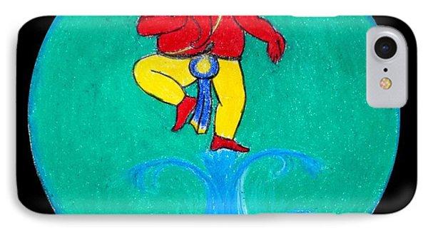 Dancing Ganesha 1 IPhone Case