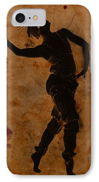 Dancing In Greek Phone Case by Sarah Vernon