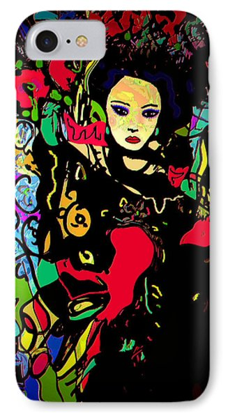 Dancing In The Moonlight Phone Case by Natalie Holland