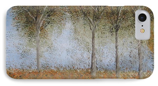 Dancing Leaves IPhone Case by Tim Townsend