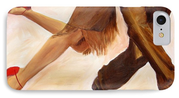 Dancing Legs IIi IPhone Case by Sheri  Chakamian