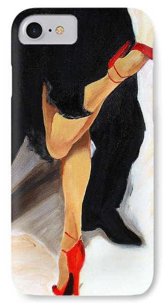 IPhone Case featuring the painting Dancing Legs II by Sheri  Chakamian