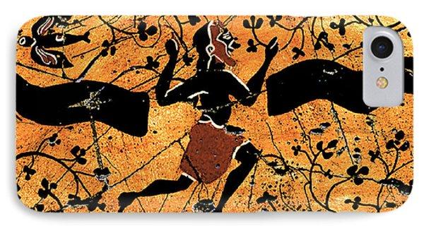 Dancing Man - Study No. 1 Phone Case by Steve Bogdanoff