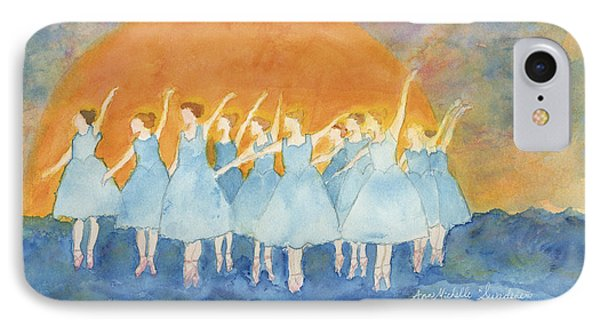 Dancing On Top Of The Sea IPhone Case by Ann Michelle Swadener