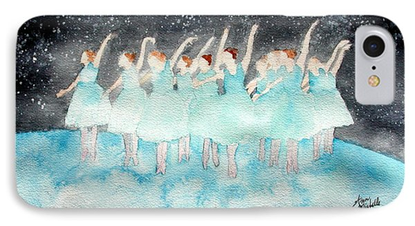 Dancing On Top Of The World IPhone Case by Ann Michelle Swadener