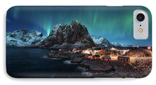 Dancing Over Hamnoy IPhone Case