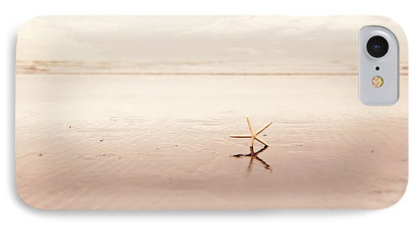 Dancing Starfish Beach Photograph Phone Case by Sylvia Cook