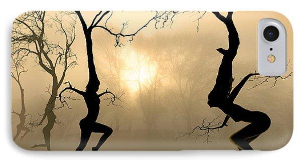Dancing Trees IPhone Case