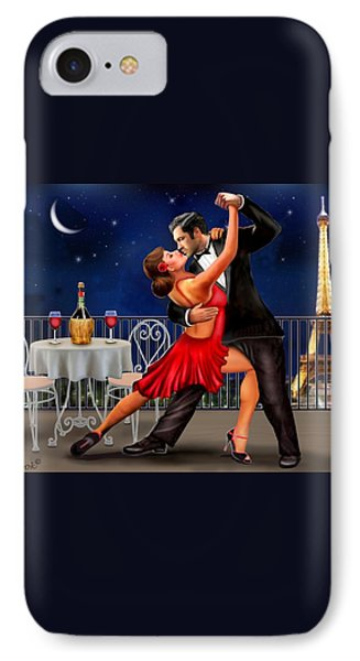 Dancing Under The Stars IPhone Case by Glenn Holbrook