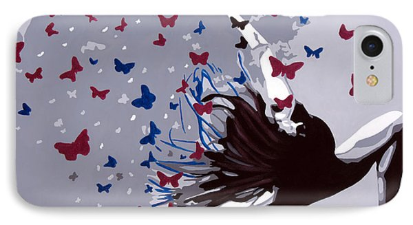 Dancing With Butterflies IPhone Case