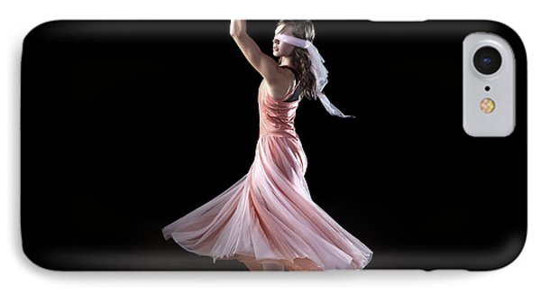 Dancing With Closed Eyes Phone Case by Cindy Singleton