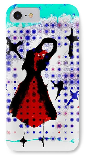 IPhone Case featuring the photograph Dancing With The Birds by Jessica Shelton