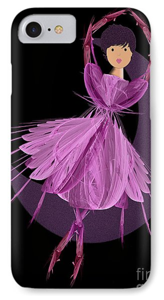 Dancing With The Moon A Phone Case by Andee Design