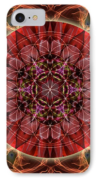 Dancing With The Solar Flares IPhone Case