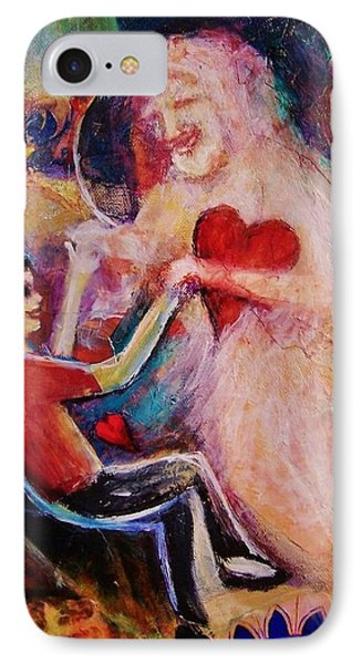 Dancing Witht The Holy Spirit IPhone Case by Dana Vacca