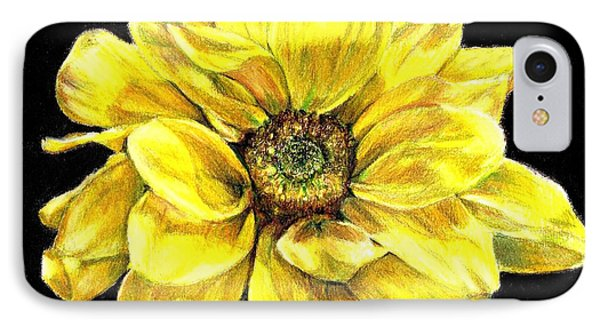 Dancing Yellow Daisy IPhone Case